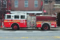 FDNY Engine 224 (Triborough) Tags: nyc newyorkcity ny newyork engine firetruck fireengine statenisland fdny seagrave richmondcounty stapelton newyorkcityfiredepartment engine224