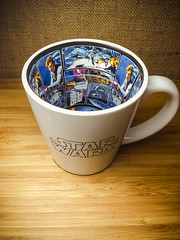 A Mug that I will be drinking out of for the rest of my life (Clark Tanaka) Tags: star starwars samsung f22 100 wars 42 sc04e f22