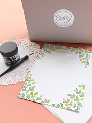 Green Note Note Cards | Oubly.com