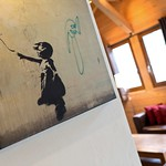 Artwork at Chalet Robin - More Mountain Luxury Chalet in Morzine