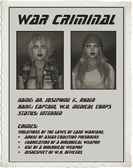 Wanted! (Josie Ryder RP) Tags: world life city war union crime scifi second dystopian midian