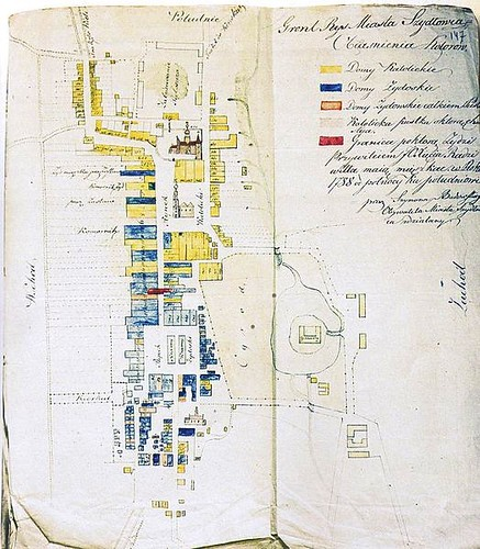 Dawna mapa miasta