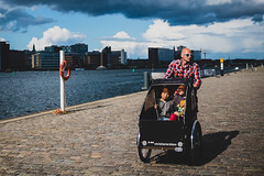 christiania bikes (Daniele Zanni) Tags: travel sunglasses bike bicycle kids copenhagen denmark google flickr candid streetphotography facebook squarespace 500px iceboxcool x100s
