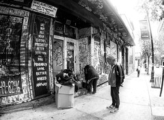 """""""Holt Renfrew"""" in the world of the Homeless and Destitute (fromhereonend photography) Tags:"""