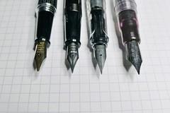 My favorite pens (3/3) (Not Rosie) Tags: fountain pen lumix panasonic pilot lamy noodlers lx5