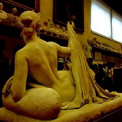Disinvoltura / Nonchalance (Loredana Consoli) Tags: italy sculpture woman art statue work florence italian plaster tuscany belle firenze arti nudity sensuality accademia