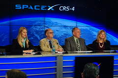 NASA Management explaining Importance of the Science Experiments on this SpaceX4 Flight