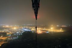 Crane Climb (Craig Hannah) Tags: night climb scotland high airport aberdeenshire crane explore aberdeen dyce