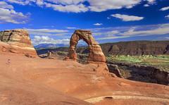 Delicate Arch (Fil.ippo) Tags: travel usa landscape utah arch natural moab archesnationalpark hdr filippo paesaggio delicatearch d5000 filippobianchi