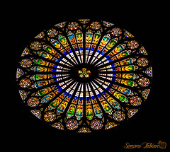 Cathédrale Notre-Dame de Strasbourg (meepeachii) Tags: france church colors architecture colorful cathedral strasbourg