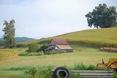 Foothill Barn (Sarah Hina) Tags: new ohio barn farm hill marshfield