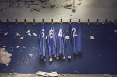 Game over (andre govia.) Tags: school abandoned shirt ball football rooms classroom decay room down cricket creepy changing urbanexploration derelict decayed decaying urbex decayedbuildings urbanexplorers andregovia