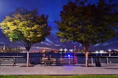Hudson River Park, 09.28.14 (gigi_nyc) Tags: nyc newyorkcity sunset newjersey hudsonriverpark hudsonriver