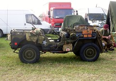 Jeep (MJ_100) Tags: army jeep military wwii ww2 vehicle reenactment reenactors secondworldwar 2014 victoryshow