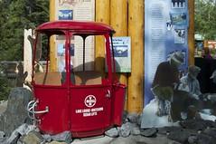 Gondola car red (jjknitis) Tags: gondola lakelouise banffnationalpark lakelouisevillage