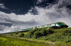 Dublin - Cork Express (2c..) Tags: ireland sky train © railway full express ie 2c mk4 eireann iarnrod 2cireland