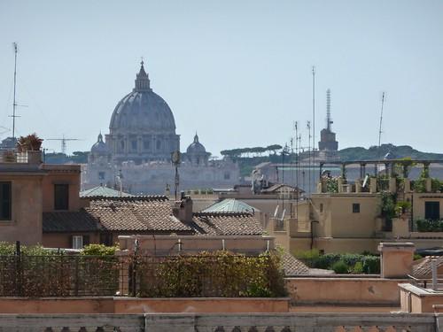Vue sur Rome