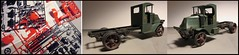 From This to THIS - Monogram Mack Truck Model (Michael Paul Smith) Tags: 1920s mack truck monogram model kit 124th scale