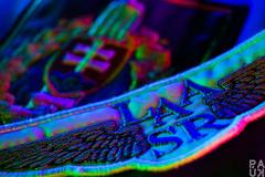 MM: Textil, cloth (PaukSK) Tags: colors color macro closeup textil canon eos m5 patch patches led leds light lights technology colorful mm hmm textilcloth bokeh dof depthoffield national emblem sign symbol laasr sr slovakia slovensko leteckaamaterskaasociacia