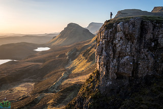 Standing on the Quiraing