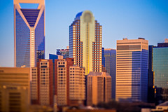 beautiful views of charlotte north crolina city skyline (DigiDreamGrafix.com) Tags: city downtown skyline north carolina charlotte business financial cloud modern sunset dusk dawn architecture exterior office skyscraper tower urban american usa cityscape cloudscape district apartment buildings metropolis dramatic location place america sightseeing skies metropolitan landmarks ncsunrise tilt tiltshift shift lens effect blur blurry