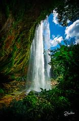 Misol Ha Waterfall (Riccardo Maria Mantero) Tags: clouds mantero riccardomantero riccardomariamantero blue landscape mexico natura outdoors sky travel water