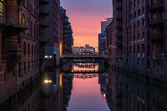 The Warehouse District (Andrew G Robertson) Tags: hamburg warehouse hafencity sunrise sun rise sunset germany canon5dmkiv mk4 mkiv 5d canon