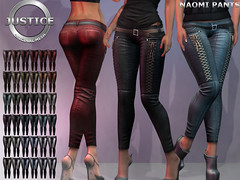 JUSTICE NAOMI PANTS FATPACK PIC ([:.UNDERGROUND & JUSTICE.:]) Tags: secondlife fashion avatar virtualworld 3d 2ndlife vaientine valentine coy justice maitreya slink physique hourglass belleza