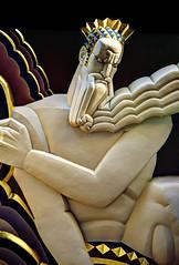 "NYC - Rockefeller Center - ""Wisdom"", Lee Lawrie, 1933 (David Pirmann) Tags: newyorkcity rockefellercenter 30rock leelawrie wisdom artdeco basrelief favorite art nyc"