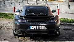 DARK KNIGHT on Porsche 911 Turbo S [991.1] by auto-Dynamics.pl (Performance Tuning Center) Tags: