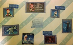 Frozen Spray Bulletin Board (alittleplayfullness) Tags: childlifespecialist child children childlife coping procedures