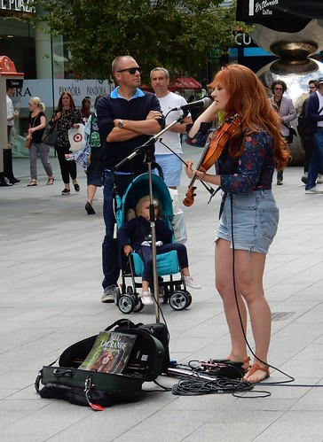 Red Haired Violinist