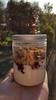 Petit-dej en mode Kosmik...et W.W! :) (Claire Coopmans) Tags: fromage blanc framboise gelée muesli chocolat chocolate rasberry kosmik christophe christophemichalak michalak petit déjeuner breakfast