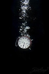 Tick Tock - 9:00 (jane-long) Tags: clock underwaterphotography underwater underwaterworld nikon aquatech photography conceptualphotography ime