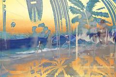 Beach Time (Karen McQuilkin) Tags: hawaii beach woodie palmtrees ocean art