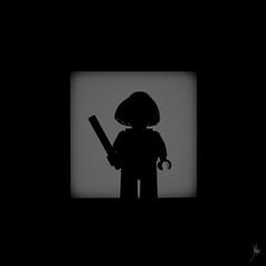 Shadow (329/100) - Tina Goldstein (Ballou34) Tags: 2016 7dmark2 7dmarkii 7d2 7dii afol ballou34 canon canon7dmarkii canon7dii eos eos7dmarkii eos7d2 eos7dii flickr lego legographer legography minifigures photography stuckinplastic toy toyphotography toys puteaux îledefrance france fr 7d mark 2 ii eos7d stuck plastic blackwhite light shadow photgraphy enevucube minifigure 100shadows 2017 newt scamander harry potter fantastic beasts magic wizzard wand tina goldstein