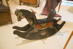 Antique German hand-painted rocking horse