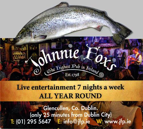 johnny foxes pub