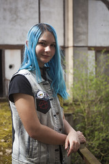 _MG_3349 (LennyW) Tags: urbex france girl blue hair city canon 5d 5 d mark 2 ii mk2 mkii 2880 28 80 f3556 f35 35 f56 56 usm electric model digital eos
