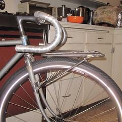 10x10 hoverrack & embossed Trek fork, #1 (Tysasi) Tags: 10x10 rack porteur fork ancient trek steel hoverrack