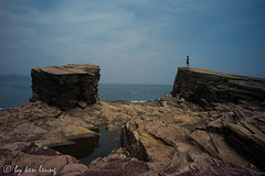 "choice (""'kenlwc) Tags: leica old travel blue sea sky people hk woman nature water girl rock island hongkong sight ping elmar chau tung waterscape m9 21mm geopark kenleung   elmar21mm28  leicam9"