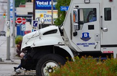 Accident Scene (Vegan Butterfly) Tags: trip truck bc crash accident columbia vehicles british vernon