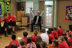 """Stephen Mosley MP meets Cherry Grove Primary school children supporting Send My Friend to School Campaign • <a style=""""font-size:0.8em;"""" href=""""http://www.flickr.com/photos/51035458@N07/14332908910/"""" target=""""_blank"""">View on Flickr</a>"""