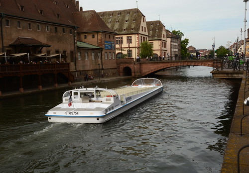 city trip bridge france water architecture river boat town spring nikon timber strasbourg ill alsace riverboat boattrip oldtown barge oldcity bateaumouche timberedhouse nikond7100