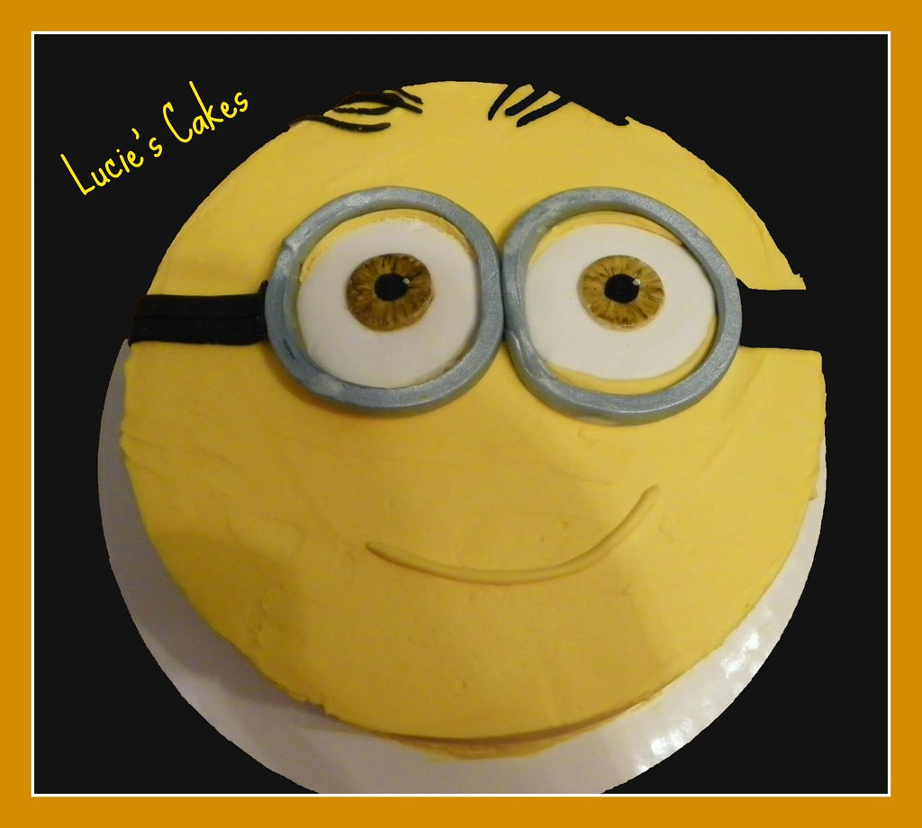 Minion Dave Birthday Cake Image Inspiration of Cake and Birthday