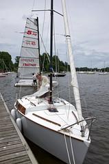 Les Voiles de l'Erdre La Chapelle juin 2013 (Philippe Pichon) Tags: france bateau voile ponton rive lachapellesurerdre erdre loireatlantique