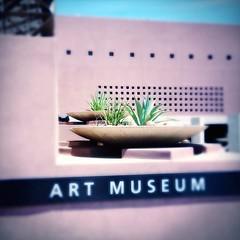 ASU Art Museum (kevin dooley) Tags: arizona art museum architecture campus university state asu artmuseum tempe iphone w40 aplusphoto hipstamatic tinto1884
