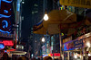A Day In 5 (thewinteryone) Tags: street nyc light food signs night buildings ads 50mm billboards bulbs umbrellas d3 stands