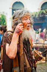 Old Beggarman (Tessa Santos) Tags: portugal fair medieval feira beggar coimbra pedinte 2014 beggarman