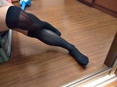 IMG_20140627_124640_HDR (socks manX) Tags: man socks shoes business pantyhose sheer otc